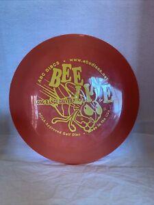 ABC Discs BEE LINE Long Range Driver PDGA Approved Golf Disc Orange 174 grams