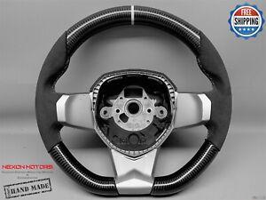 Lamborghini Aventador LP700 LP720 LP750 SVJ 5 White Alc Carbon Steering Wheel V1