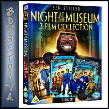 NIGHT AT THE MUSEUM - 3 FILM COLLECTION - TRILOGY *BRAND NEW DVD BOXSET***
