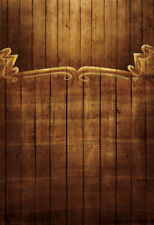 Printing Wood Wall Photo Photography Backdrops Brown Background Studio Props