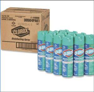 Disinfectant Spray Aerosol- Clorox - 19oz - (case of 12)