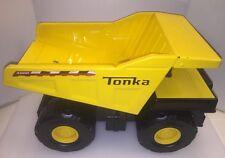 """Tonka 14"""" Mighty Diesel Dump Truck Pressed Steel Vintage 2009 C239-A 01381 4000"""