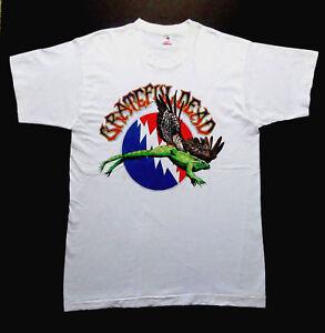 Grateful Dead Shirt T Shirt Vintage 1995 Summer Tour Frog Toad Wing Dates XL New