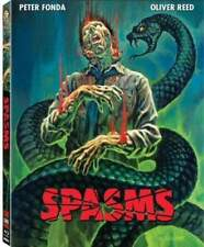 SPASMS (1983) Blu-Ray PETER FONDA Dick Smith GORE FX! CODE RED w/Rare SLIPCOVER