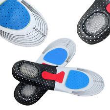 1Paar bequem Einlegesohle Unisex Silikon Gel Schuheinlagen Sport Insoles Pad H/J