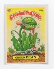 Green Dean Garbage Pail Kids Card # 105 B   NEXT DAY SHIP AFTER PAYMENT