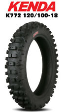 KENDA CARLSBAD K772 120/100-18 OFF-ROAD REAR MC TYRE - INTERMEDIATE - HARD