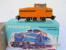 MÄRKLIN HO 1/87 - 3 rails  -  LOCOTRACTEUR DIESEL DHG 500 ref 3080