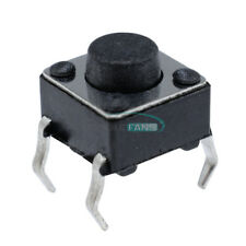 100Pcs 4Pin Tact Switches 6 X 6 X 5mm Tactile Touch Push Button Switch New