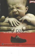 PUBLICITE ADVERTISING 1989    CAMPER chaussures  p pas.....