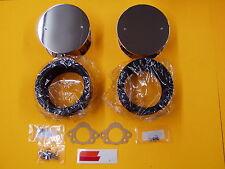 Datsun 240Z 1970-73 K&N Air Filter Set Hitachi SU Round Filters Pair NEW 112 028