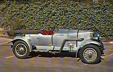 1922 Vauxhall 20/98 OE Sports Car 4 Cylinder, Transportation Automobile Postcard