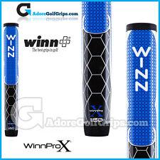 """WINN Pro X 1.60 """"GIGANTE TONDA LITE Putter Grip-BLU / NERO / BIANCO"""