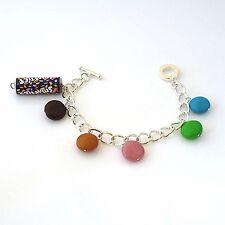 bracelet smarties handmade cute fimo sweetie yummy