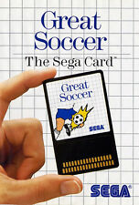 # Sega Master System Card-Great Soccer (dt. cover) #