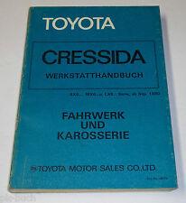 Werkstatthandbuch Toyota Cressida Fahrwerk / Karosserie / Getriebe, ab 09/1980