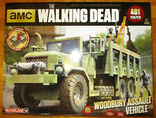 McFarlane Walking Dead WOODBURY ASSAULT VEHICLE Construction Building SHUMPERT