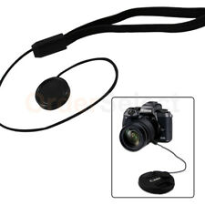 2X Lens Cap Strap Holder String Keeper Front Cover for Nikon Canon Sony Pentax