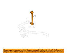 GM OEM Stabilizer Sway Bar-Rear-Stabilizer Link Left 88982342