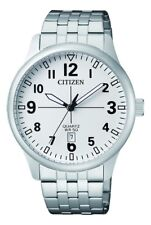 Citizen Men's BI1050-81A WR50 Stainless Steel Watch DATE RRP $225