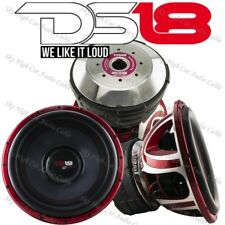 """DS18 HOOL X15.2D 15"""" Subwoofer 6000W Max Dual 2ohm 15in SPL Bass Competition Sub"""