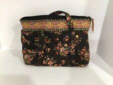 Vera Bradley brown floral handbag