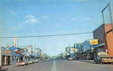 Photo. ca 1966. Prince George, BC Canada.  3rd Ave