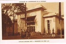 CPA n&b Liège, expo 1930 - pavillon scolaire (sud)