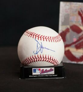 GFA Oakland Athletics HIROYUKI NAKAJIMA Signed MLB Baseball H2 COA