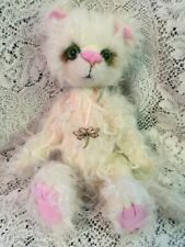 TIFFANY KAYCEE BEARS 2013 AUTUMN LIMITED MOHAIR CAT BY KELSEY CUNNINGHAM