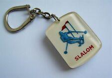 Ancien porte clé bourbon Jeux Olympiques Grenoble 1968 Ski Slalom Montagne JO.