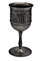 SHABBAT table HOLIDAY Jewish festival meal Wine grape Kiddush Cup Goblet Judaica