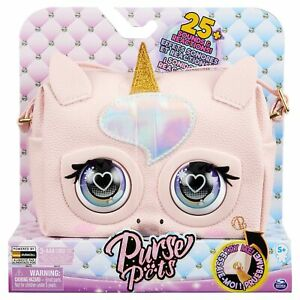 Purse Pets Glamicorn Unicorn Interactive with Over 25 Sounds and Reactions