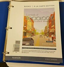 Essentials of Sociology, Books a la Carte (11th Edition)  ISBN 978-0-13-380366-2