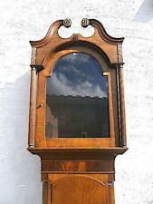 More details for early 14x20 inch oak mahogany  longcase clock  case for a 14x20 inch dial  c1840