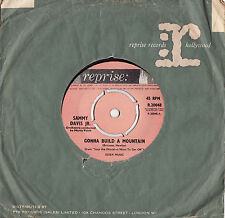 SAMMY DAVIS JR. - GONNA BUILD ME A MOUNTAIN Very rare 1962 UK Single Release!