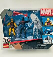 """Marvel Universe Yellow Daredevil, Stealth Iron Man & Silver Surfer  3 3/4"""" -NEW"""