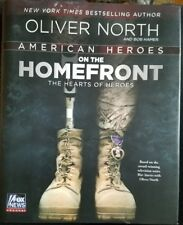 American Heroes on the Homefront Oliver North Hardcover Book War Stories