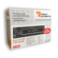 Kienzle MCR1118DAB+ KFZ Tuner USB AUX Bluetooth DAB+ Autoradio ohne CD Laufwerk