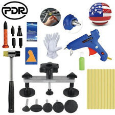 PDR Tools Paintless Dent Repair Hail Removal Puller Bridge Tap Down w/Glue Gun