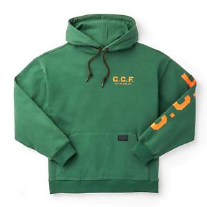 Filson CCF Graphic Pullover Hooded Sweatshirt Pineneedle Green