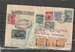 Brazil Colombia ZEPPELIN SCADTA COVER TO Germany 1931