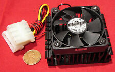 Adda CPU Cooling Fan & Heatsink 50mm x 10mm 12V DC, 90mA, AD0512HB-G70 Brushless