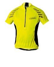Altura Night VisionWomens  Short Sleeve Cycling Jersey, Yellow, Size 14