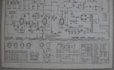 LOEWE OPTA Typ 556 W Planet Schaltplan Ausgabe 1, Stand 04/54