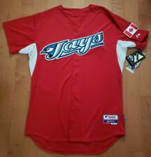 NWT 44 (Large) AUTHENTIC 2011 Toronto Blue Jays CANADA DAY Jersey