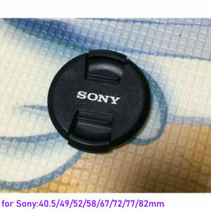 40.5 49 52 55 58 67 72 77 82mm Snap on Lens Cap Cover Protector for SONY Camera