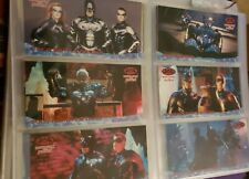 BATMAN & ROBIN Complete Movie Trading Card Set Widevision Skybox + lots of chase
