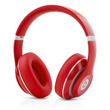 Beats by Dr. Dre Studio 2.0 Headband Headphones - Red Wired