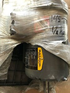 BALDOR M3554T 1 1/2 H,P AC Motor 208-230/460 Volts, 1740 Rpm, 3 Ph, TEFC, NEW